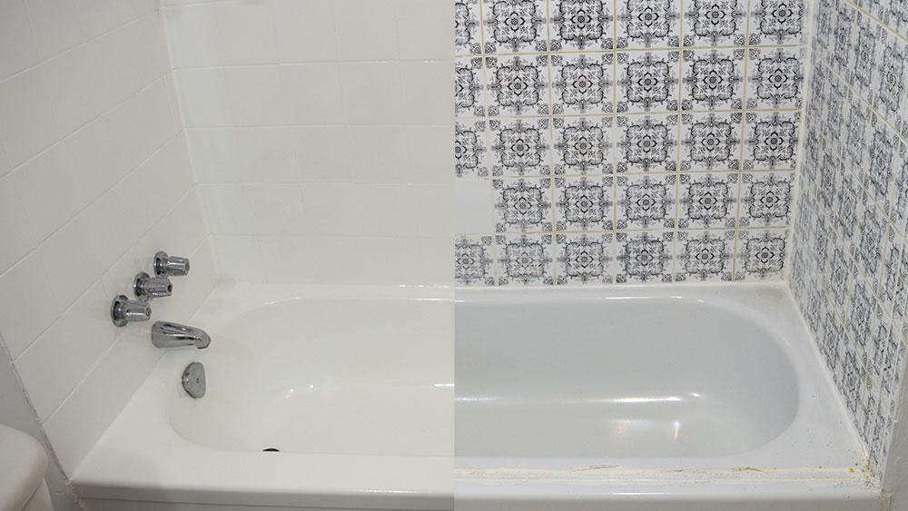 R mailler une baignoire et carrelage bain meilleur - Reemailler une baignoire ...