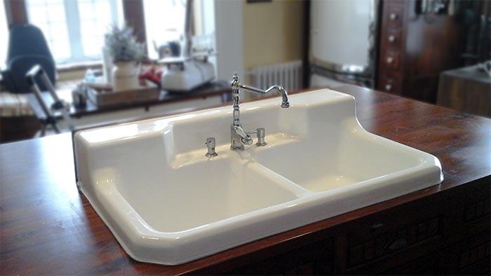 r mailler un vier antique bain meilleur. Black Bedroom Furniture Sets. Home Design Ideas